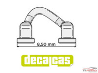 DCLPAR012 Door / Hood Hinges   8 pcs Resin Accessoires