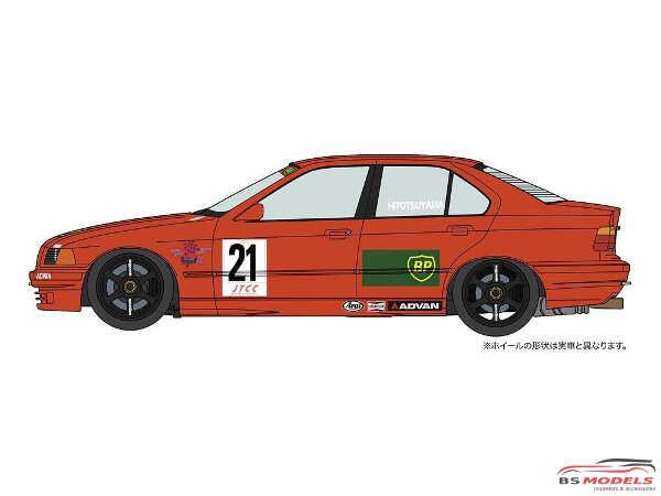 HAS20430 BMW 318i JTCC BP Advan Plastic Kit