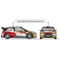 Citroën DS3 WRC saison 2013